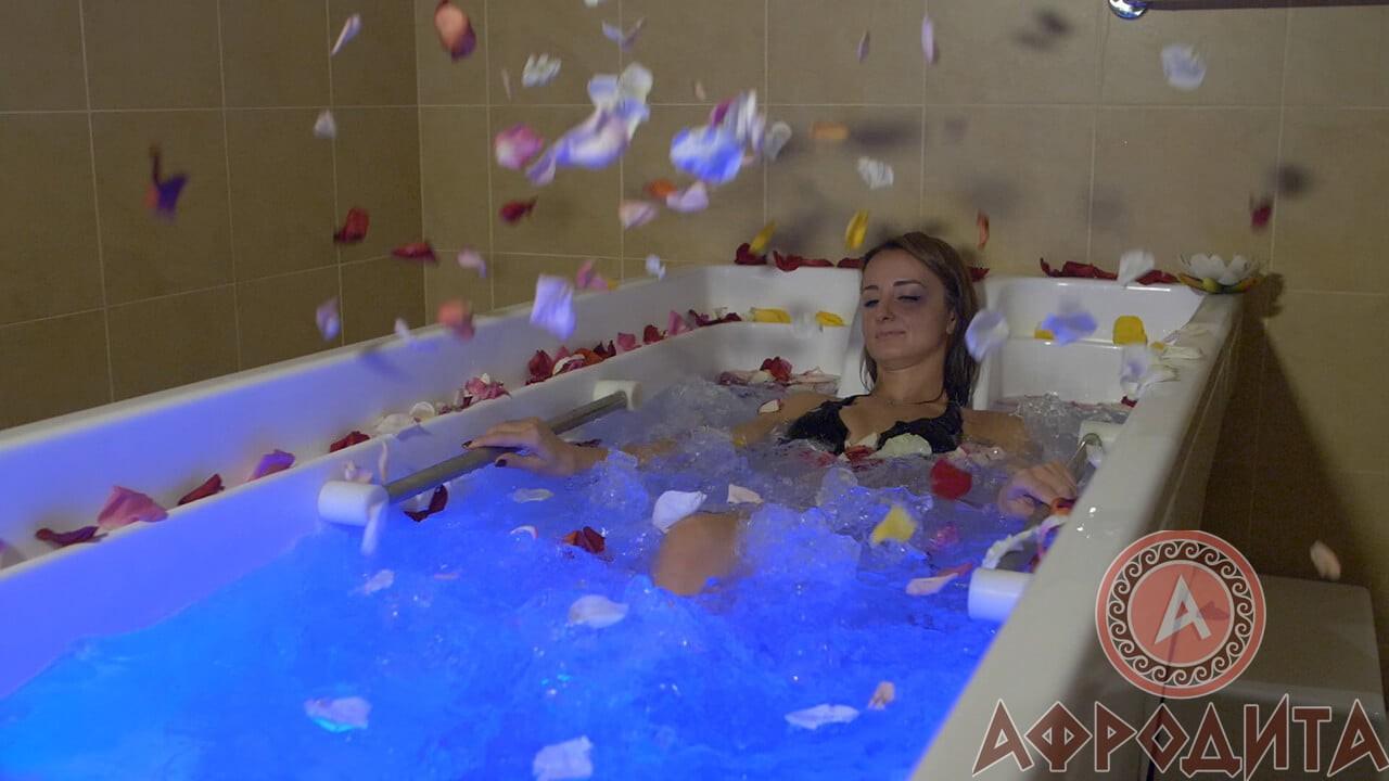 Гидромассаж в спа салоне Афродита в Железнодорожном