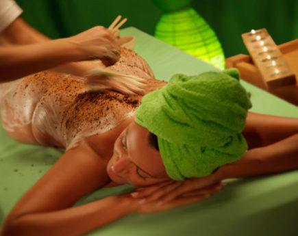 СПА-программа «Весенний рассвет» пилинг массаж