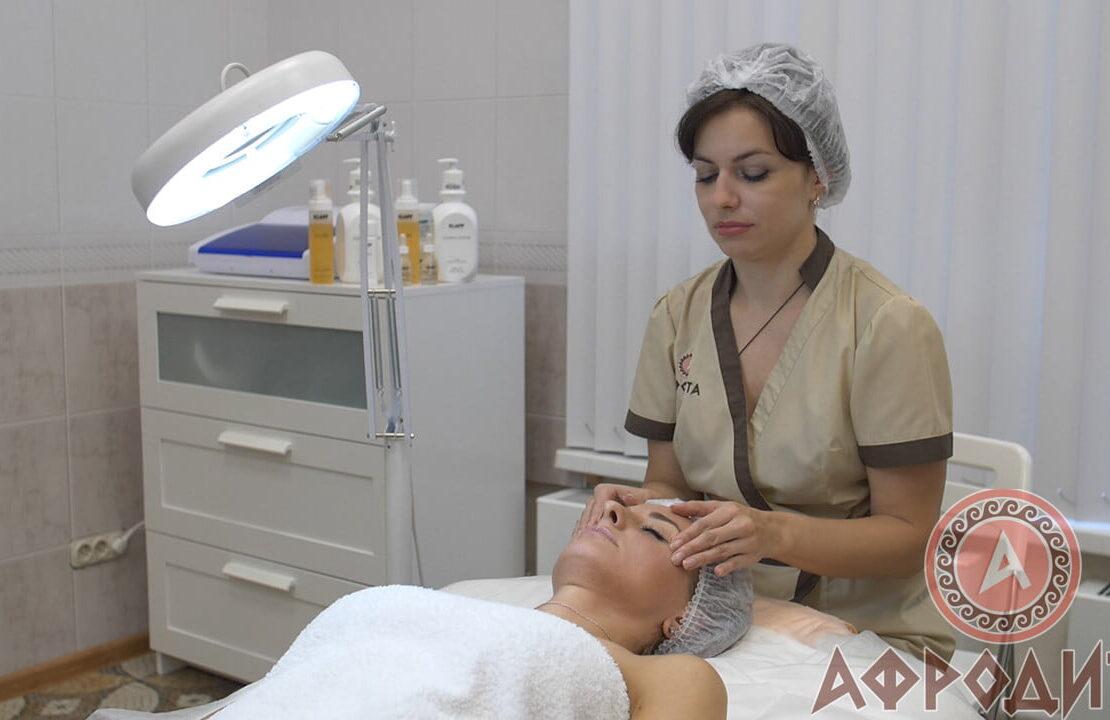 Классический массаж лица в Железнодорожном (Балашиха) в спа центре Афродита