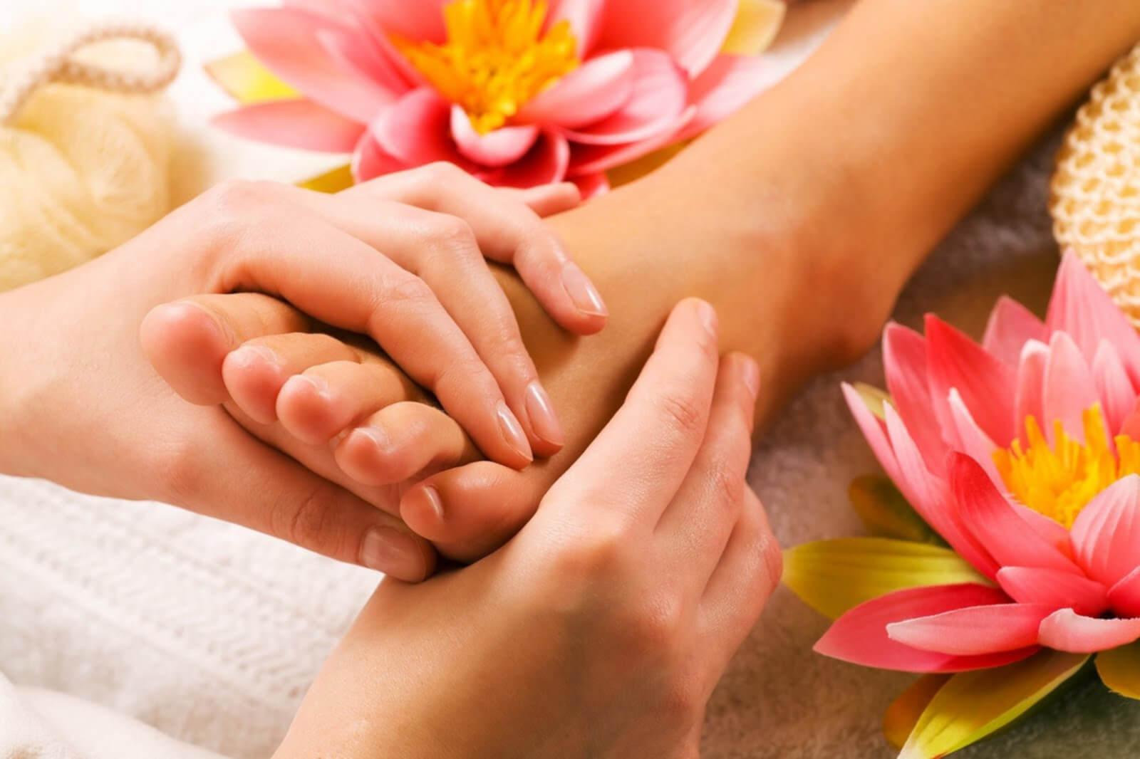 СПА процедура для рук и ног Скраб+крем+массаж