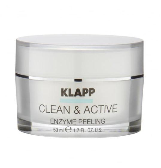 Энзимный скраб KLAPP CLEAN&ACTIVE Enzyme Scrab 50мл