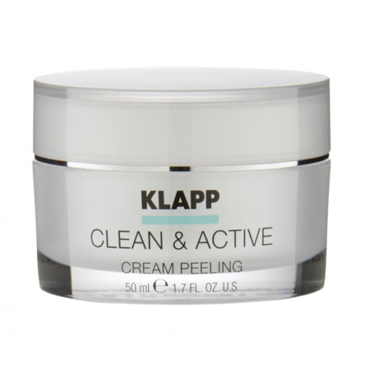 Крем-скраб KLAPP CLEAN & ACTIVE Cream Scrab 50мл