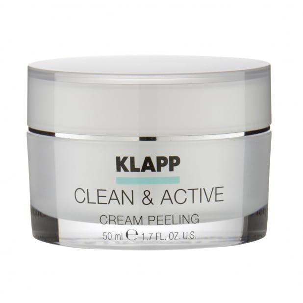Крем-скраб KLAPP CLEAN & ACTIVE Cream Scrab 50мл