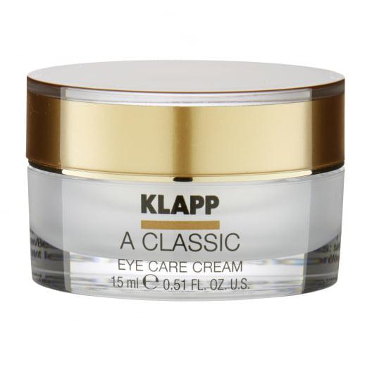 Крем-уход для кожи для глаз KLAPP A CLASSIC Eye Care Cream 15мл