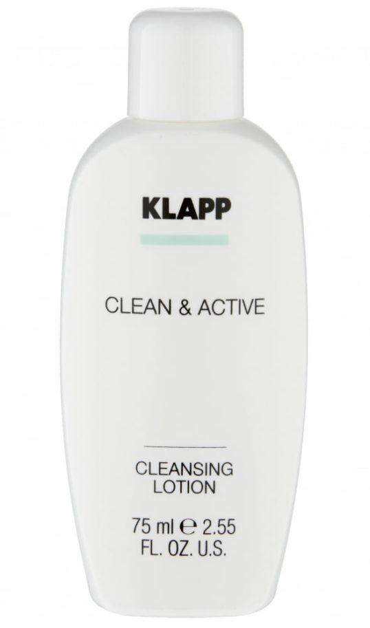 Очищающее молочко KLAPP CLEAN&ACTIVE Cleansing Lotion 75мл