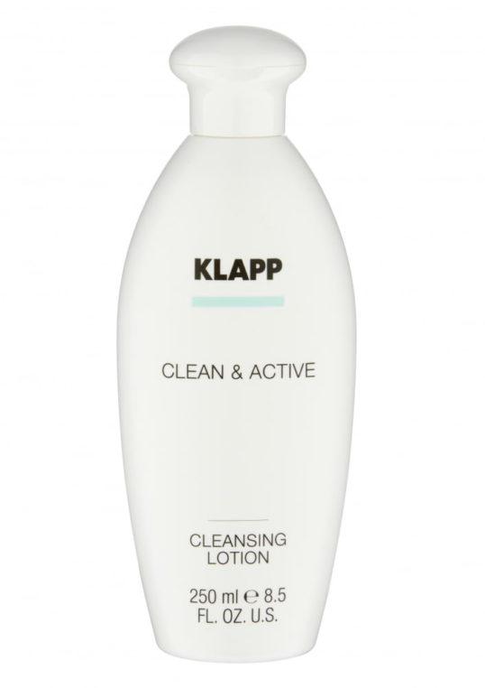 Очищающее молочко KLAPP CLEAN&ACTIVE Cleansing Lotion 250мл