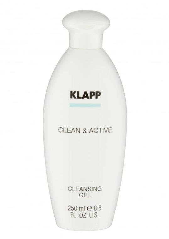 Очищающий гель KLAPP CLEAN&ACTIVE Cleansing Gel 250мл