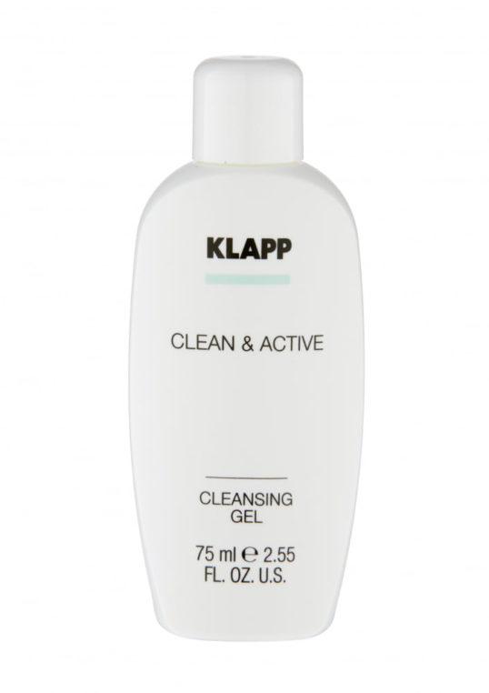 Очищающий гель KLAPP CLEAN&ACTIVE Cleansing Gel 75мл