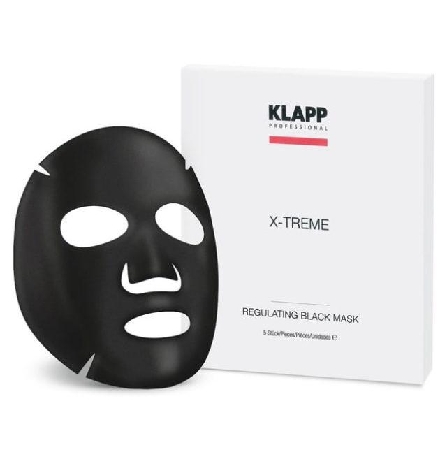 Регулирующая черная Маска X-TREME KLAPP COSMETICS 1шт