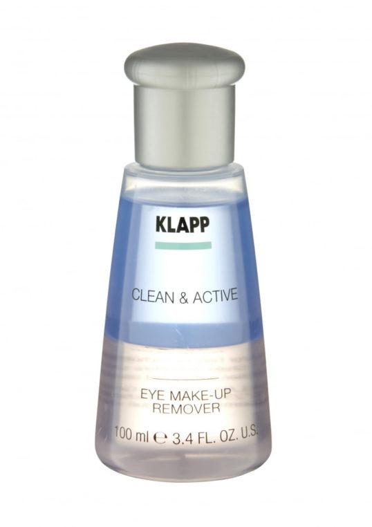 Средство для снятия макияжа с глаз CLEAN&ACTIVE Eye Make-Up Remover 100мл