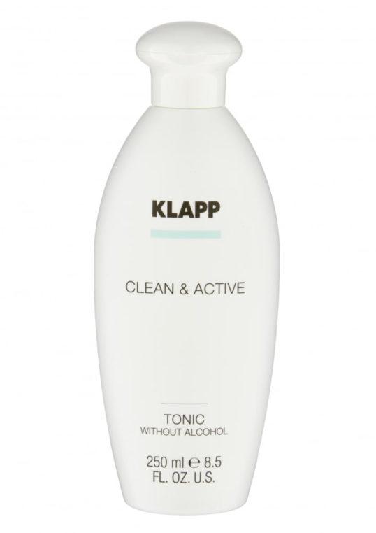 Тоник без спирта KLAPP CLEAN&ACTIVE Tonic without Alcohol 250мл