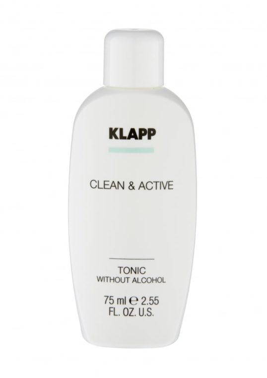 Тоник без спирта KLAPP CLEAN&ACTIVE Tonic without Alcohol 75мл
