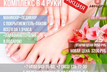 АКЦИЯ КОМПЛЕКС в 4 РУКИ!