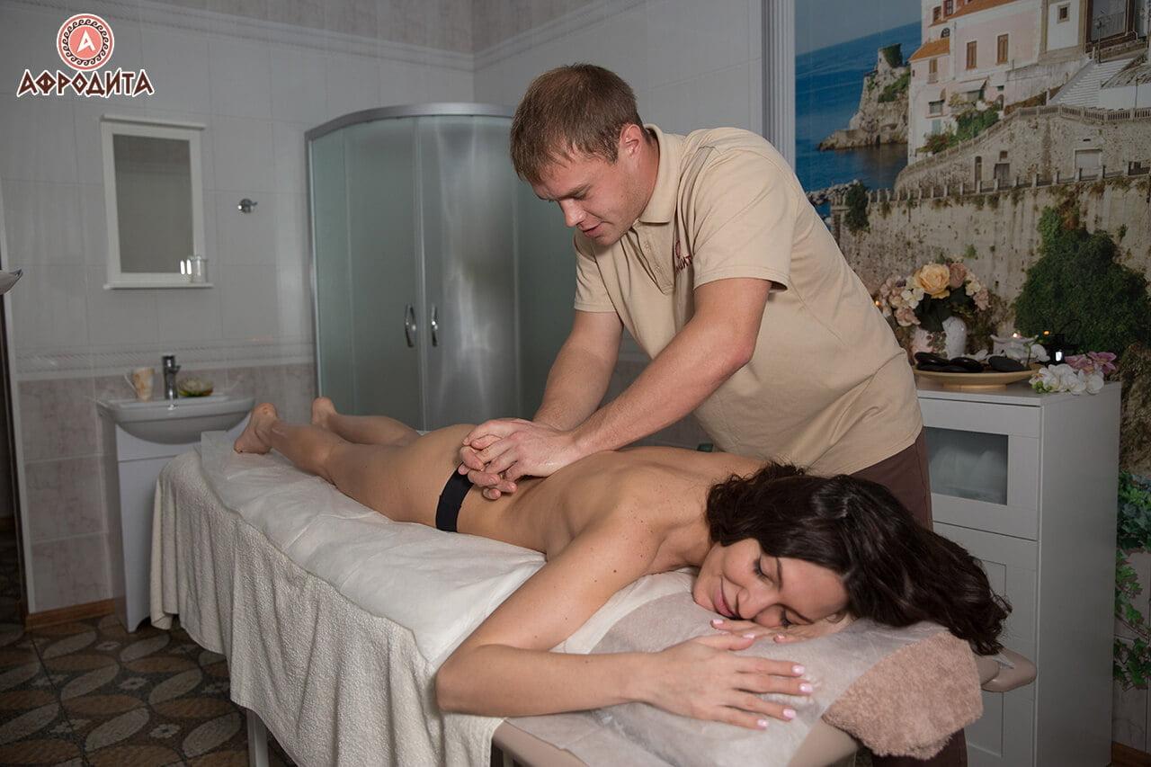 Микс оздоровительный массаж спины