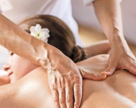 Акция на микс оздоровительный массаж