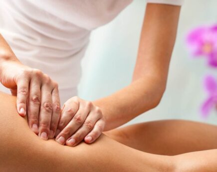 лимфодренажного массаж
